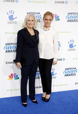 annie: Glenn Close and Annie Starke at the 2012 American Giving Awards held at the Pasadena Civic Auditorium in Pasadena on December 7, 2012.