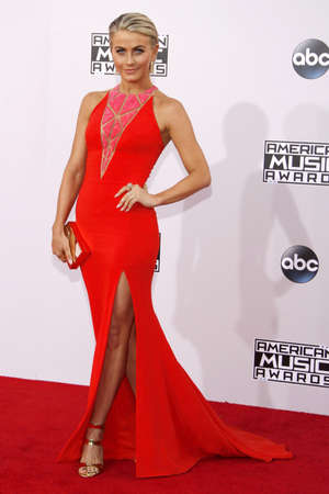 american music: Julianne Hough at the 2014 American Music Awards held at the Nokia Theatre L.A. Live in Los Angeles on November 23, 2014 in Los Angeles, California. Editorial