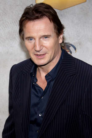 Liam Neeson at the 2010 Spike TVs Guys Choice Awards held at the Sony Pictures Studios in Culver City on June 5, 2010.