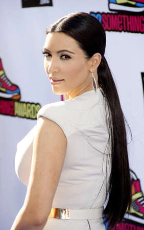Kim Kardashian at the 2011 Do Something Awards held at the Hollywood Palladium in Hollywood on August 14, 2011.