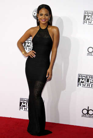 christina: Christina Milian at the 2014 American Music Awards held at the Nokia Theatre L.A. Live in Los Angeles on November 23, 2014 in Los Angeles, California. Credit: Lumeimages.com