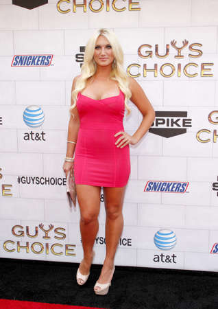 culver city: Brooke Hogan at the 2012 Spike TV's Guys Choice Awards held at the Sony Studios in Culver City on June 2, 2012. Credit: Lumeimages.com Editorial