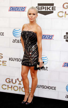 Kendra Wilkinson at the 2012 Spike TVs Guys Choice Awards held at the Sony Studios in Culver City on June 2, 2012.
