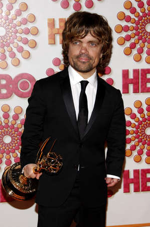 west hollywood: Peter Dinklage at the 2011 HBOs Post Emmy Awards Reception held at the Pacific Design Center in West Hollywood on September 18, 2011. Credit: Lumeimages.com Editorial