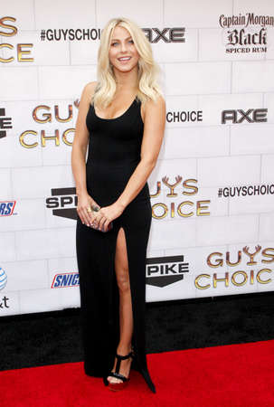 culver city: Julianne Hough at the 2012 Spike TVs Guys Choice Awards held at the Sony Studios in Culver City on June 2, 2012. Credit: Lumeimages.com