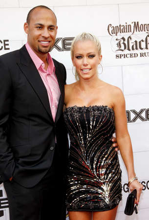 culver city: Kendra Wilkinson and Hank Baskett at the 2012 Spike TVs Guys Choice Awards held at the Sony Studios in Culver City on June 2, 2012. Credit: Lumeimages.com