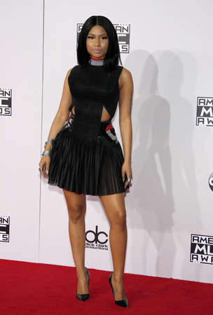 american music: Nicki Minaj at the 2014 American Music Awards held at the Nokia Theatre L.A. Live in Los Angeles on November 23, 2014 in Los Angeles, California. Editorial