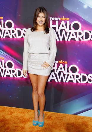 monet: Daniella Monet at the  2012 Halo Awards held at the Hollywood Palladium in Hollywood on November 17, 2012. Credit: Lumeimages.com