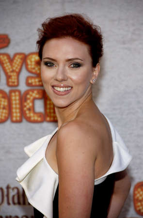 culver city: Scarlett Johansson at the 2011 Spike TVs Guys Choice Awards held at the Sony Studios in Culver City on June 4, 2011. Credit: Lumeimages.com