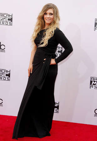 ella: Ella Henderson at the 2014 American Music Awards held at the Nokia Theatre L.A. Live in Los Angeles on November 23, 2014 in Los Angeles, California.