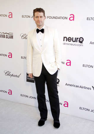 morrison: Matthew Morrison at the 21st Annual Elton John AIDS Foundation Academy Awards Viewing Party held at the Pacific Design Center in West Hollywood on February 24, 2013 in Los Angeles, California. Credit: Lumeimages.com