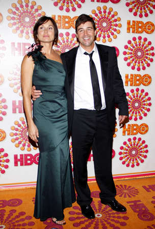 chandler: Kathryn Chandler and Kyle Chandler at the 2011 HBOs Post Emmy Awards Reception held at the Pacific Design Center in West Hollywood on September 18, 2011. Editorial
