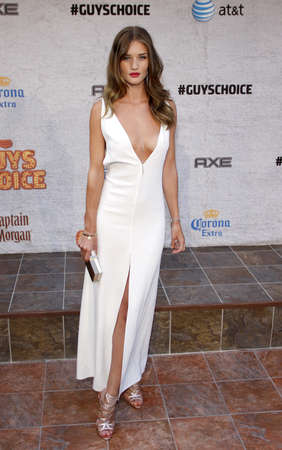 Rosie Huntington-Whiteley at the 2011 Spike TVs Guys Choice Awards held at the Sony Studios in Culver City on June 4, 2011.