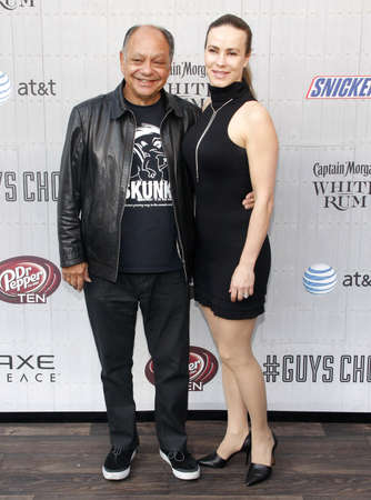 marin: Cheech Marin and Natasha Marin at the Spike TVs Guys Choice 2014 held at the Sony Pictures Studios in Los Angeles on June 7, 2014 in Los Angeles, California. Credit: Lumeimages.com