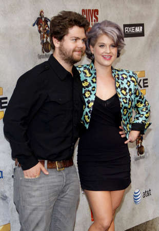 Jack Osbourne and Kelly Osbourne at the 2010 Spike TV's Guys Choice Awards held at the Sony Pictures Studios in Culver City on June 5, 2010. Editorial