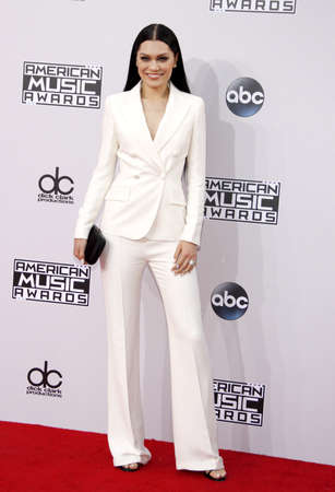 american music: Jessie J at the 2014 American Music Awards held at the Nokia Theatre L.A. Live in Los Angeles on November 23, 2014 in Los Angeles, California.
