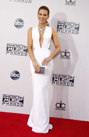 american music: Kate Beckinsale at the 2014 American Music Awards held at the Nokia Theatre L.A. Live in Los Angeles on November 23, 2014 in Los Angeles, California. Editorial