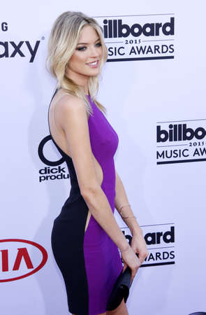 martha: Martha Hunt at the 2015 Billboard Music Awards held at the MGM Garden Arena in Las Vegas, USA on May 17, 2015. Credit: Lumeimages.com