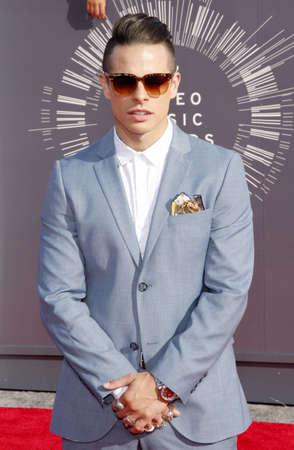 beau: Beau Casper Smart at the 2014 MTV Video Music Awards held at the Forum in Los Angeles, USA on August 24, 2014. Editorial