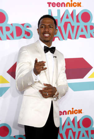 palladium: Nick Cannon at the 5th Annual TeenNick HALO Awards held at the Hollywood Palladium in Los Angeles on November 17, 2013 in Los Angeles, California.
