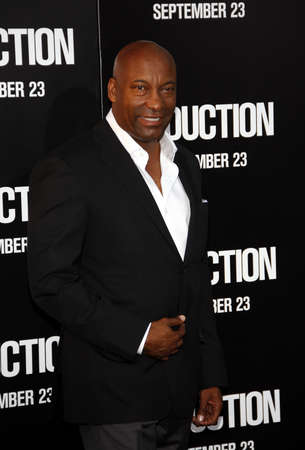 abduction: John Singleton at the Los Angeles premiere of Abduction held at the Graumans Chinese Theater in Los Angeles on September 15, 2011.