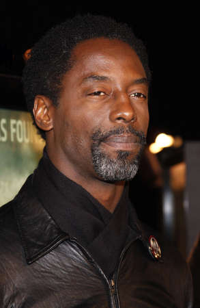 isaiah: Isaiah Washington attends the Los Angeles Premiere of Cloverfield held at the Paramount Pictures Lot in Hollywood, California, United States on January 16, 2008.