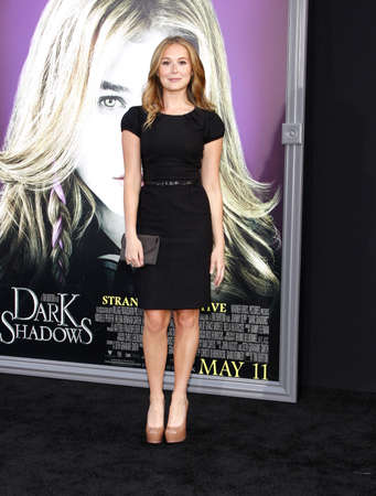 Alexa Vega at the Los Angeles premiere of Dark Shadows held at the Graumans Chinese Theatre in Hollywood on May 7, 2012.