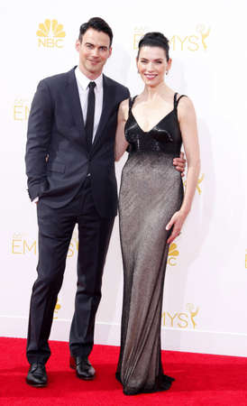 keith: Julianna Margulies and Keith Lieberthal at the 66th Annual Primetime Emmy Awards held at the Nokia Theatre L.A. Live in Los Angeles on August 25, 2014 in Los Angeles, California.
