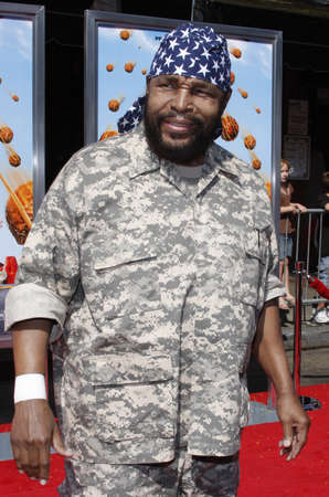 Mr. T at the Los Angeles premiere of Cloudy With A Chance Of Meatballs held at the Mann Village Theater jn Westwood, USA on September 12, 2009.