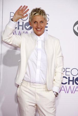 Ellen DeGeneres bei den 41. jährlichen People's Choice Awards, die am Nokia LA Live Theater in Los Angeles am 7. Januar 2015 gehalten werden. Standard-Bild - 54013866