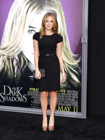 alexa: Alexa Vega at the Los Angeles premiere of Dark Shadows held at the Graumans Chinese Theatre in Hollywood, USA on May 7, 2012. Editorial