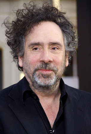 Tim Burton at the Los Angeles premiere of Dark Shadows held at the Graumans Chinese Theatre in Hollywood on May 7, 2012. Editorial