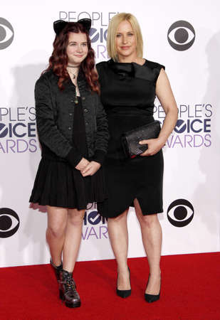 jane: Patricia Arquette and Harlow Olivia Calliope Jane at the 41st Annual Peoples Choice Awards held at the Nokia L.A. Live Theatre in Los Angeles on January 7, 2015.
