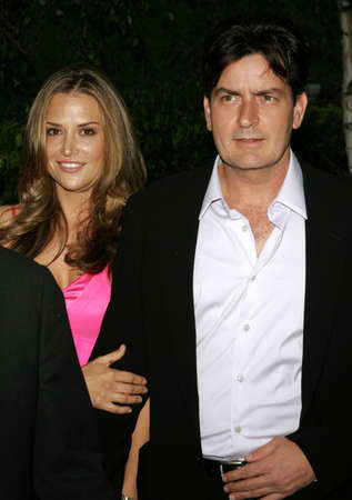 sheen: Charlie Sheen and Brooke Mueller at the Chrysalis 5th Annual Butterfly Ball held at the Italian Villa Carla & Fred Sands in Bel Air, USA on June 10, 2006.