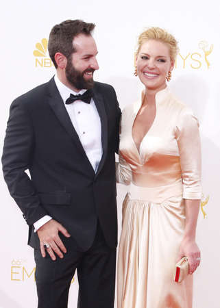 katherine: LOS ANGELES, CA - AUGUST 25, 2014: Katherine Heigl and Josh Kelley at the 66th Annual Primetime Emmy Awards held at the Nokia Theatre L.A. Live in Los Angeles, USA on August 25, 2014.