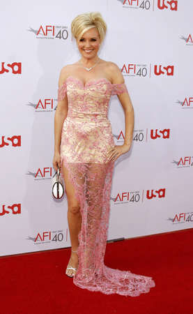 Bridget Marquardt attends the 35th Annual AFI Life Achievement Award held at the Kodak Theatre in Hollywood, California on June 7, 2007.