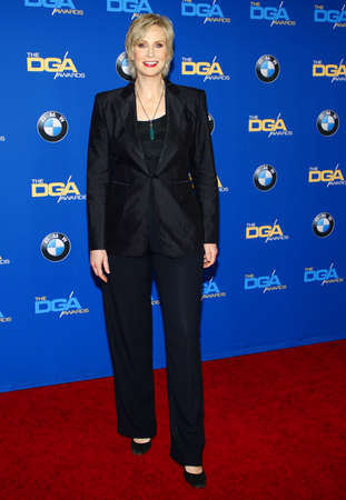 guild: Jane Lynch at the 67th Annual Directors Guild Of America Awards held at the Hyatt Regency Century Plaza in Century City on February 7, 2015. Editorial