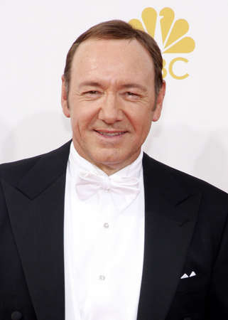 spacey: LOS ANGELES, CA - AUGUST 25, 2014: Kevin Spacey at the 66th Annual Primetime Emmy Awards held at the Nokia Theatre L.A. Live in Los Angeles, USA on August 25, 2014.