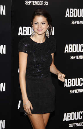 abduction: Selena Gomez at the Los Angeles premiere of Abduction held at the Graumans Chinese Theater in Los Angeles on September 15, 2011.