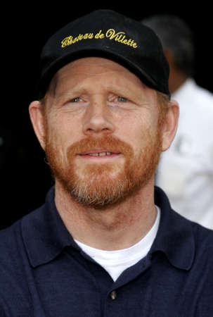 hollywood   california: Ron Howard attends the World Premiere of Curious George held at the ArcLight Cinemas in Hollywood, California on January 28, 2006.