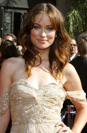 olivia: Olivia Wilde attends the 59th Annual Primetime Emmy Awards held at the Shrine Auditorium in Los Angeles, California, United States on September 16, 2007.