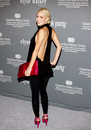 montag: Heidi Montag at the 4th Annual Pink Party held at the Hangar 8 in Santa Monica on September 13, 2008.