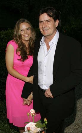 sheen: Charlie Sheen and Brooke Mueller at the Chrysalis' 5th Annual Butterfly Ball held at the Italian Villa Carla & Fred Sands in Bel Air, USA on June 10, 2006.