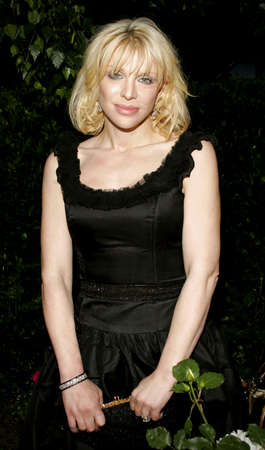 bel air: Courtney Love at the Chrysalis 5th Annual Butterfly Ball held at the Italian Villa Carla & Fred Sands in Bel Air, USA on June 10, 2006.