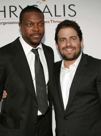 tucker: Chris Tucker and Brett Ratner at the Chrysalis 5th Annual Butterfly Ball held at the Italian Villa Carla & Fred Sands in Bel Air, USA on June 10, 2006.
