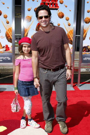 mann: Rob Morrow at the Los Angeles premiere of Cloudy With A Chance Of Meatballs held at the Mann Village Theater in Westwood, USA on September 12, 2009. Editorial