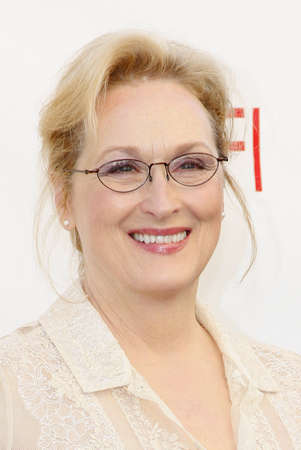 Meryl Streep at the 40th AFI Life Achievement Award Honoring Shirley MacLaine held at the Sony Studios in Los Angeles on June 7, 2012.