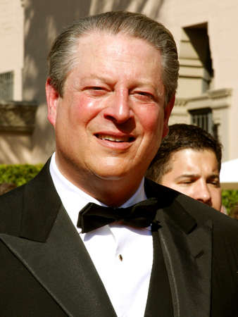 Al Gore attends the 59th Annual Primetime Emmy Awards held at the Shrine Auditorium in Los Angeles, California, United States on September 16, 2007.