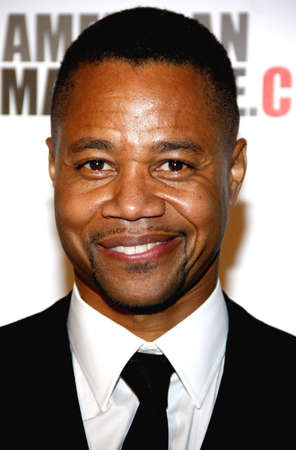 Cuba Gooding Jr. at the American Cinematheque 27th Annual Award Presentation held at the Beverly Hilton Hotel in Los Angeles, United States, 121213.