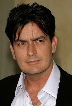 bel air: Charlie Sheen at the Chrysalis 5th Annual Butterfly Ball held at the Italian Villa Carla & Fred Sands in Bel Air, USA on June 10, 2006.